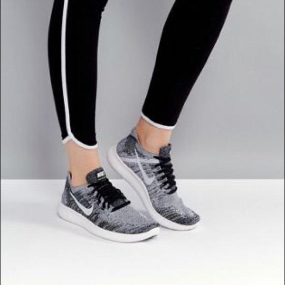 Nike Free RN Flyknit 2 Running Shoe Black Gray. M 5add12459d20f0783a6b0795 f53b63033950